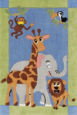 BC Kids BC-1363-01 Teppich, 110 x 170 cm - 1