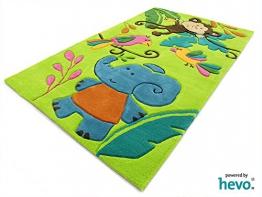 Teppichboden kinderzimmer grün  Top 30 Kinderteppich Safari - Kinder-Teppich.net