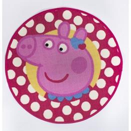Character World Peppa Pig Tweet Form Teppich - 1