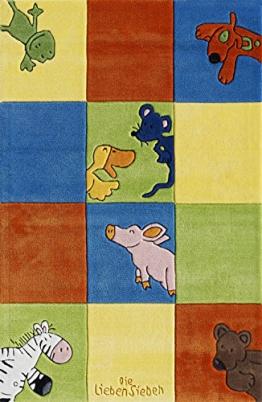 Die Lieben Sieben Kinderteppich LS-2197-01 150x220cm - 1