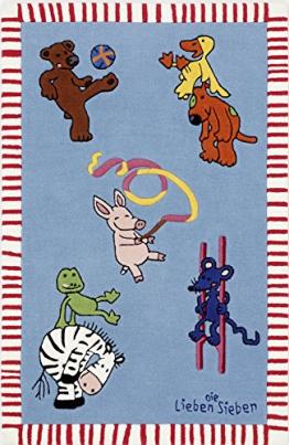 Die Lieben Sieben Kinderteppich LS-2930-01 110x170cm - 1