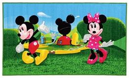 Disney Kinderteppich Mickey Mouse Club House bunt 80 x 140 cm - 1