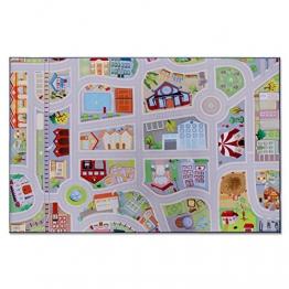 Floori® Spielmatte Meine Stadt | Straßen und Häuser | Phthalat-frei | in 2 Größen (150 x 200 cm) - 1