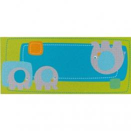 Haba 301058 Teppich Elefant Egon (Baumwolle, 60x140cm) [Spielzeug] [Spielzeug] - 1
