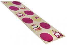 Havatex: Kinderteppich Läufer Küken w beige in 80 x 250 cm / Prüfsiegel: ÖkoTex / Flormaterial 100% Heatset Friese - 1