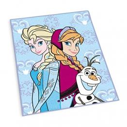 Herding 6480010012412 Teppich / Kinderteppich Disney's Eiskönigin, größe, 100 x 130 cm - 1