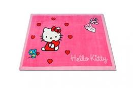 Hochwertiger Kinderteppich Hello Kitty 100x130cm K10542 - 1