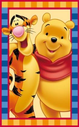 Kinder Teppich Disney Winnie the Pooh und Tiger 50x80 cm - 1
