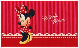 Kinder Teppich Kinderteppich Minnie Mouse / Teppich / Kinder Teppich / Kinderspielteppich / Kinderteppich / Wandteppich / Modell Kinderteppich Disney Minnie Maus / rosa / Dieser wunderschöne und Kinderteppich mit Minnie ist in der Größe 140 x 80 cm erhältlich / Dieser Kinderteppich begeistert die Kids im Nu. In trendigen Farben wird er zum Blickfang in jedem Kinderzimmer. Sooo süß / Ist er endlich in das Kinderzimmer eingezogen, werden die Kleinen sich an diesem lustigen Motiv nicht satt sehen können. Farblich bunt, bringt dieser Kinderteppich eine harmonische Note in jedes Kinderzimmer und bereichert es durch einen modernen und fröhlichen Farbtupfer. Gleichzeitig motivieren sie auch zum Träumen, zum Lernen und sind so lustig, dass sich Ihr Kind seine helle Freude daran haben wird und sich nicht satt sehen kann. Die modernen Designs passen dabei ideal in die Kinderzimmer von heute und begeistern durch die unglaubliche Farbintensität - 1