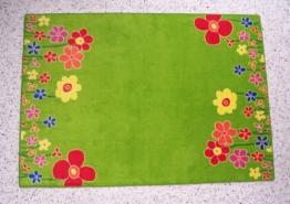 Kinderteppich Blumenwiese 140 x 200 cm - 1