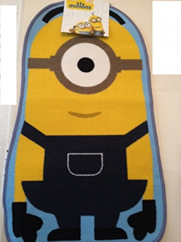 "Kinderteppich Minions ""Stuart"" Teppich Größe ca. 100x60cm - 1"