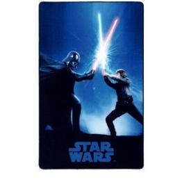 Kinderteppich Star Wars in Blau - 1
