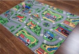 Kinderteppich Straße, Größe Auswählen:100 x 150 cm - 1