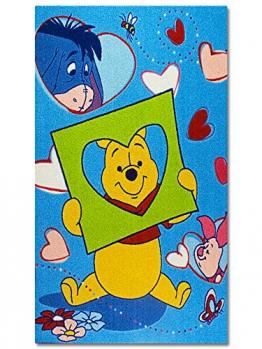 KONTRAST 2.05.D80120W81 Disney Kinderteppich, 80 x 120 cm, Winnie The Pooh 81 - 1