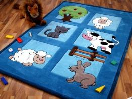Kinderteppich Tiere