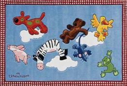 Ls-2198-01 Teppich Die Lieben Sieben - Wolken 130x190 - 1