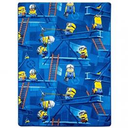 Minions Teppich blau Kinderteppich Spielteppich 125x180cm - 1