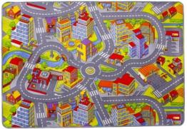 misento 293303 Kinder- / Spielteppich Straße, 140 x 200 cm - 1