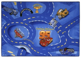 Spielteppich Cars Blau 95 x 133 - 1