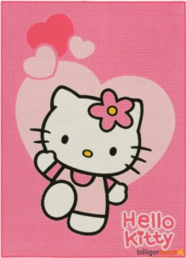 Spielteppich Hello Kitty Love 0,95 x 1,33 - 1