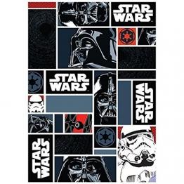 Star Wars Teppich 133x95 cm Kinderteppich Spielteppich Disney StarWars Icons 01 - 1