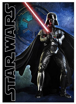 SW Spielteppich Darth Vader 95 x 133cm - 1