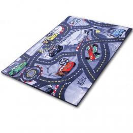 Teppich - Kinderteppich - Spielteppich mit Motivauswahl (Cars) - 1