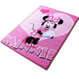 Teppich - Kinderteppich - Spielteppich mit Motivauswahl (Minnie) - 1